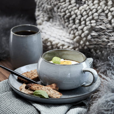 Grey Amara Cup And Saucer - PRE ORDER