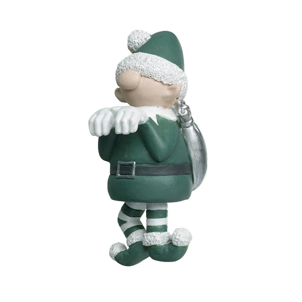 Santa & Elf Pot Hanger Decoration