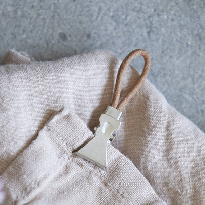 Leather Towel Clip