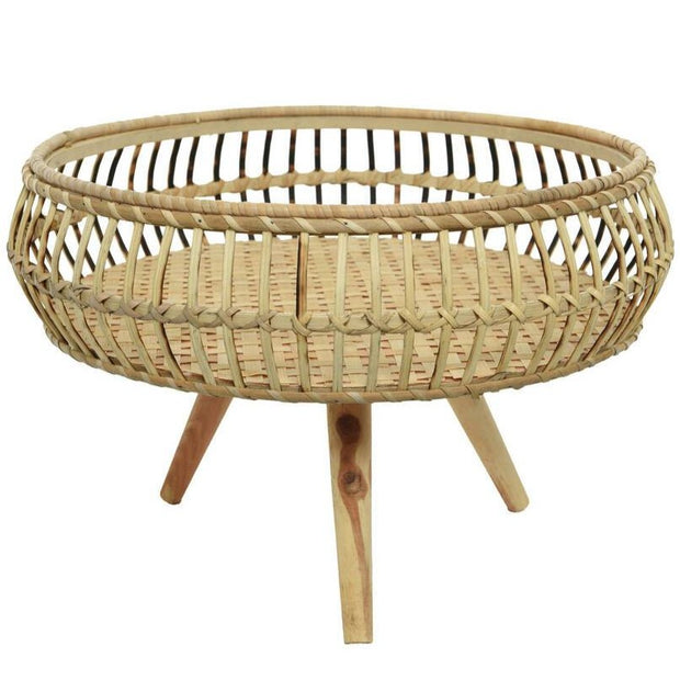 Large Bamboo Tray Table On Feet