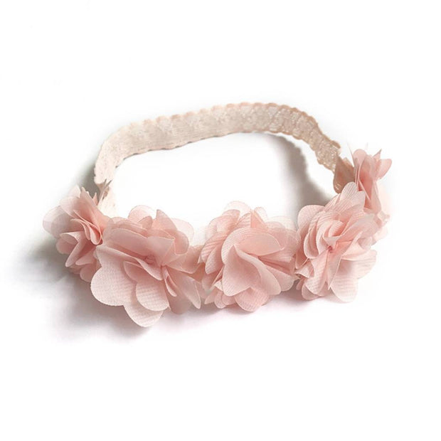 Blush Pink Floral Hairband