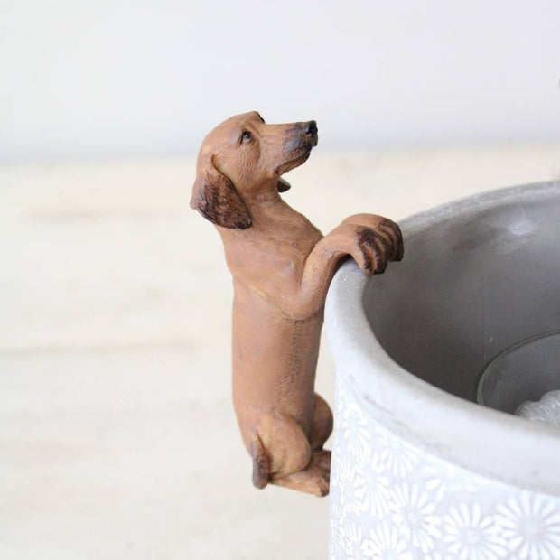 Sausage Dog Pot Hanger