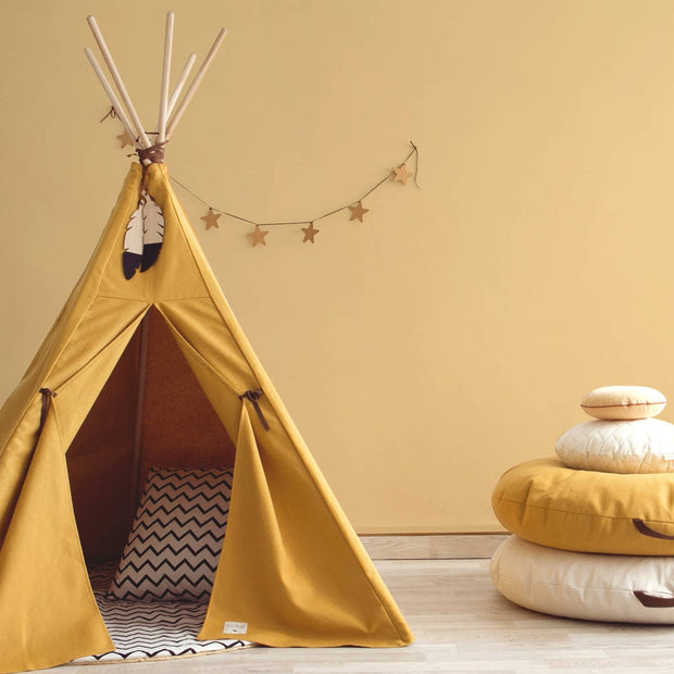 Nevada Teepee Farniente Yellow - By Nobodinoz
