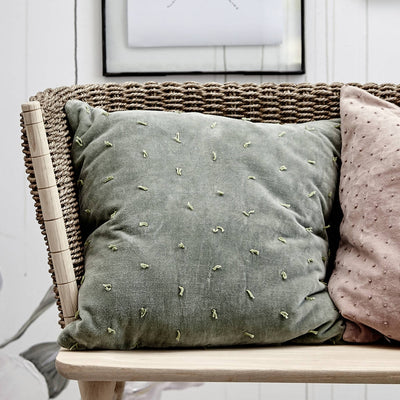 Green Bay Velvet Scatter Cushion