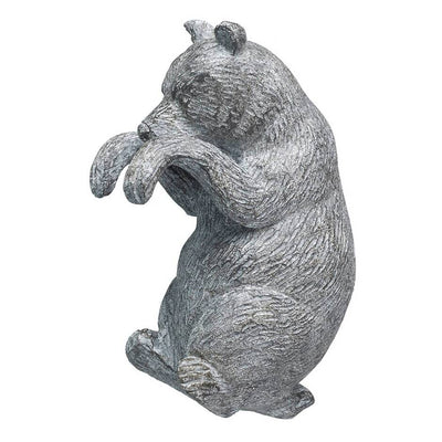 Grey Bear Pot Hanger