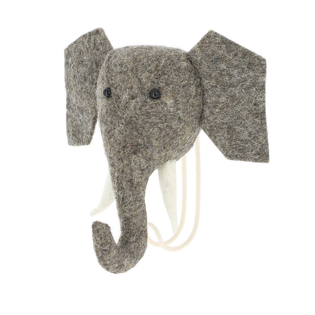 Felt Elephant Wall Hook