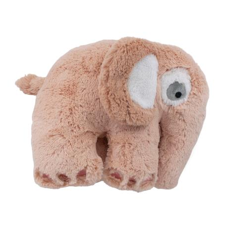 Grapefruit Pink Plush Elephant Toy