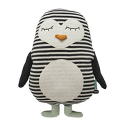 Pingo The Penguin Knitted Cushion