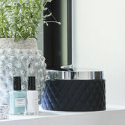 Harlequin Maritime Blue Storage Jar