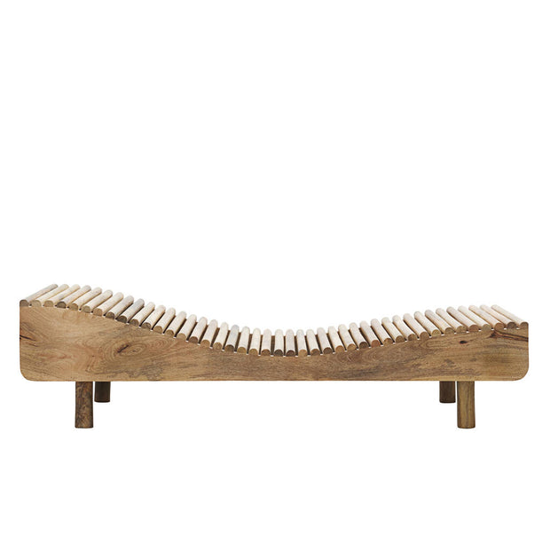 Natural Mango Wood Day Bed