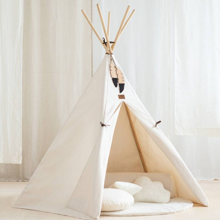 White Natural Nevada Teepee