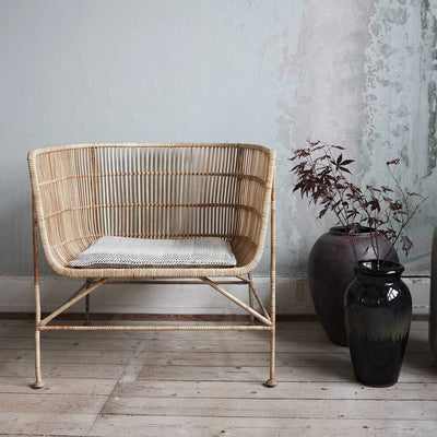 Natural Rattan Accent Chair - PRE ORDER