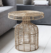 Natural Rattan Side Table
