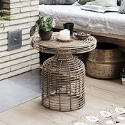 Rattan Side Table - PRE ORDER