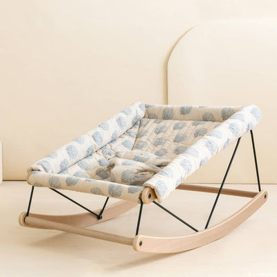 Gatsby Blue Growing Green Baby Bouncer