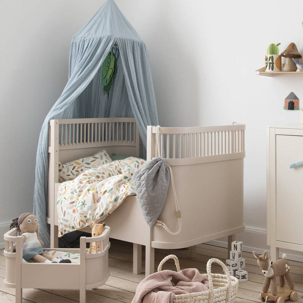 Dusty Pink Baby And Jr Bed