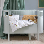Sebra Mist Green Baby & Jr Bed