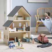 Luxury Scandi 25 Piece Doll's House