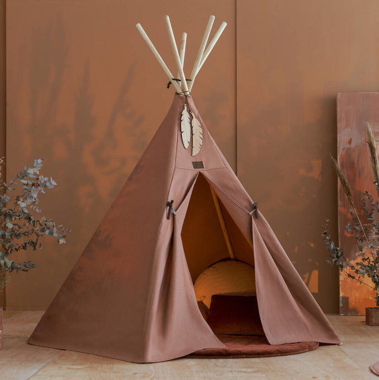 Organic Cotton Sienna Nevada Teepee - By Nobodinoz