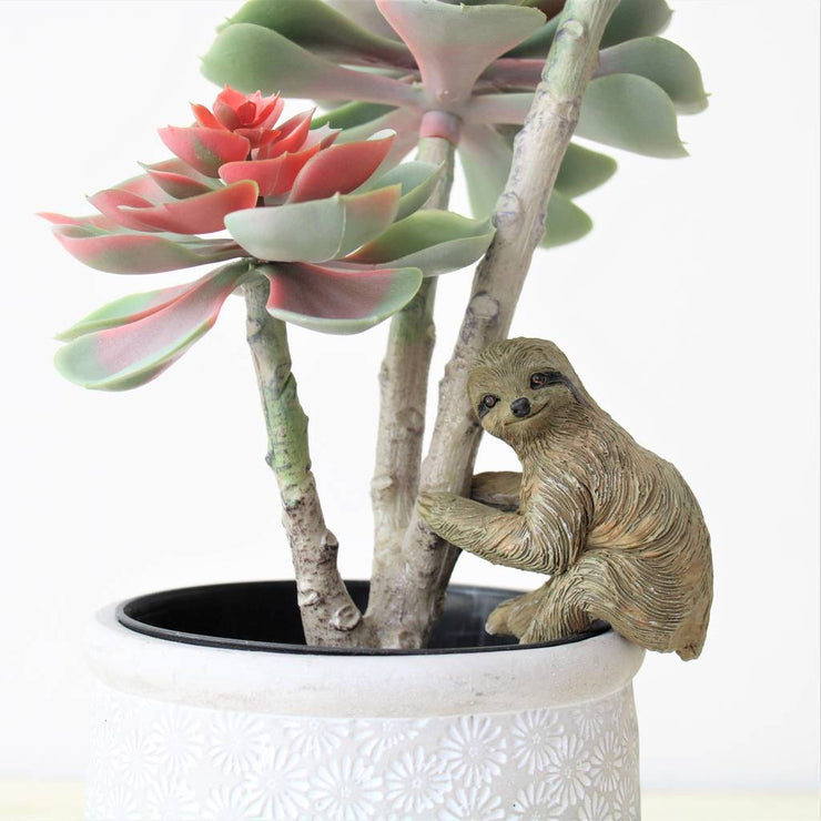 Sloth Pothanger Decoration