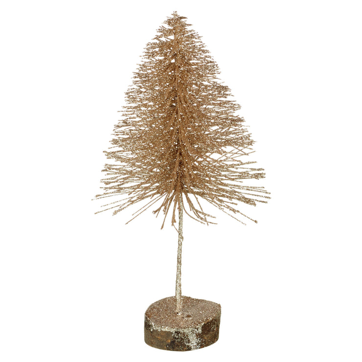 Gold Shimmer Christmas Tree