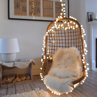 String Of LED Pompom Lights