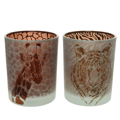 Safari Print Tea Light Holder