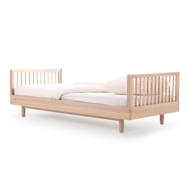Solid Oakwood Single Bed - By Nobodinoz