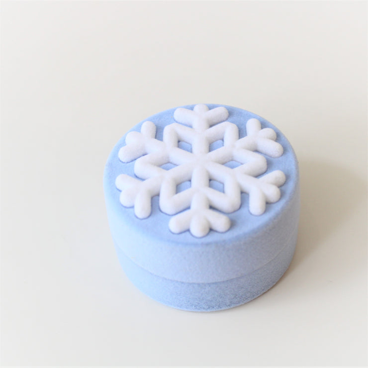 Snowflake Ring In ' Frozen ' Ring Gift Box