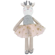 Velvet Deer Ballerina Soft Toy