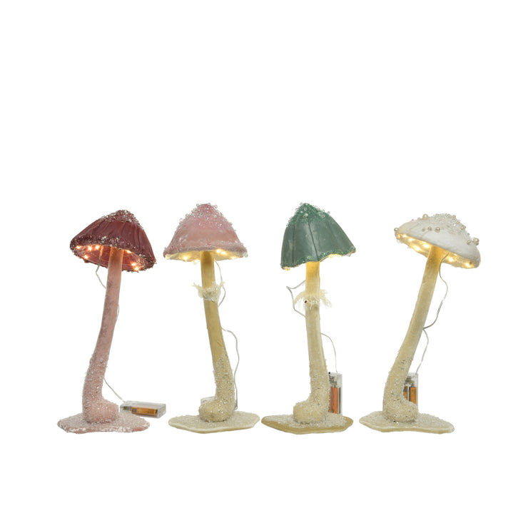 Enchanted LED Toadstool Lights