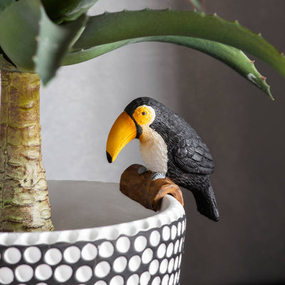 Toucan Pot Hanger Decoration - PRE ORDER