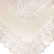 Tuscany Bistro Lace Vinyl Tablecloth / Cream PRE-ORDER