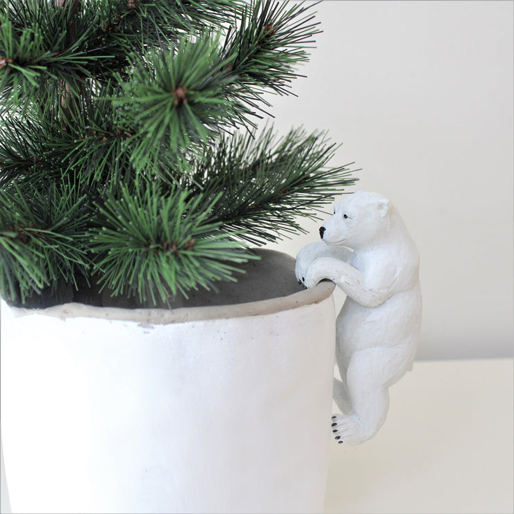 Polar Bear Pot Hanger