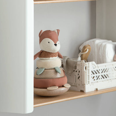Wooden Fox Stacking Toy