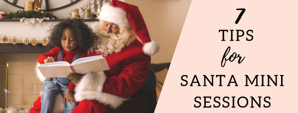 How to Make Money with Santa Mini Photography Sessions