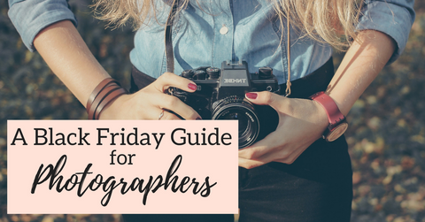 Black friday deals for photographers