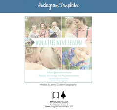 FREE Instagram Templates for Photographers