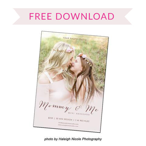 FREE Mommy and Me Template