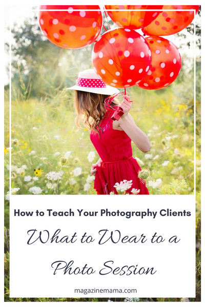 Teach Photography Clients What to Wear