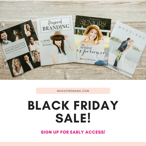 Black Friday for Photographers Early Access