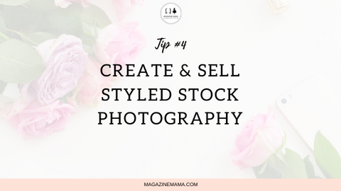 create and sell styled stock photography