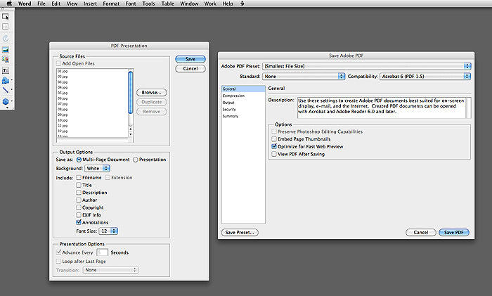 How to Create a PDF of Your Welcome Guide Using Photoshop