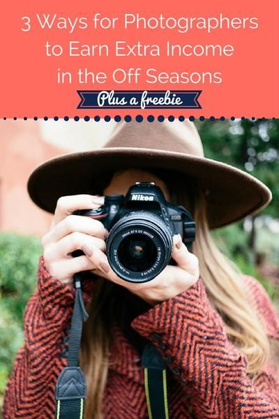 3 Ways for photographers to earn extra income in the off season