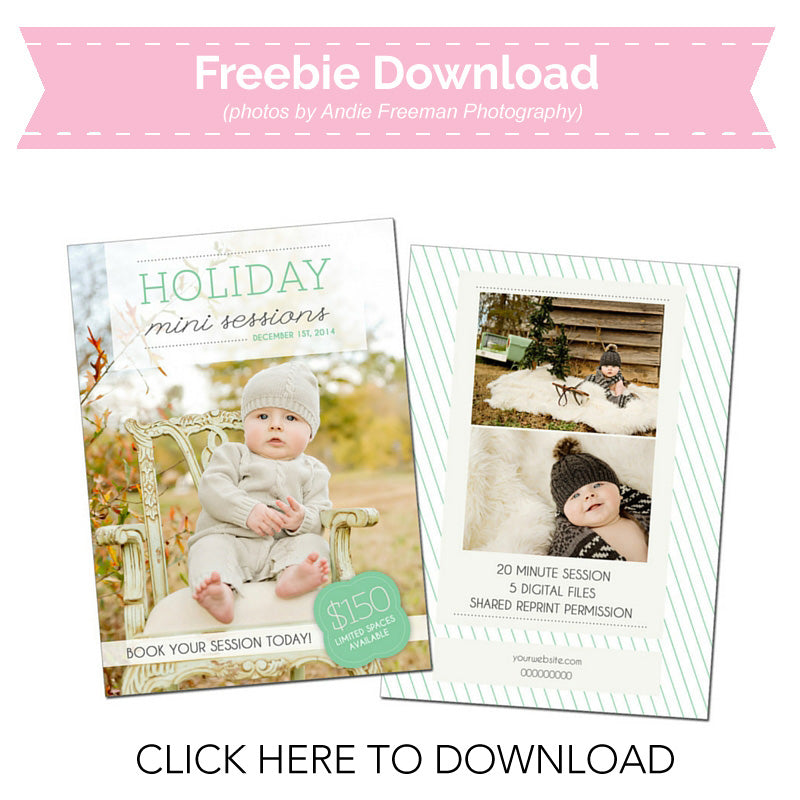Free Mini Session Template
