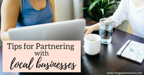 How photographers can partner with local businesses