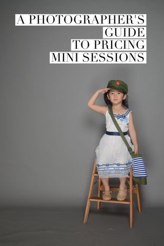 photographer's guide to pricing mini sessions