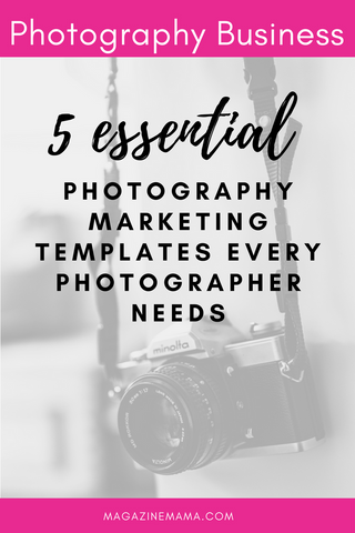 Photography Marketing Templates Every Photographer Needs