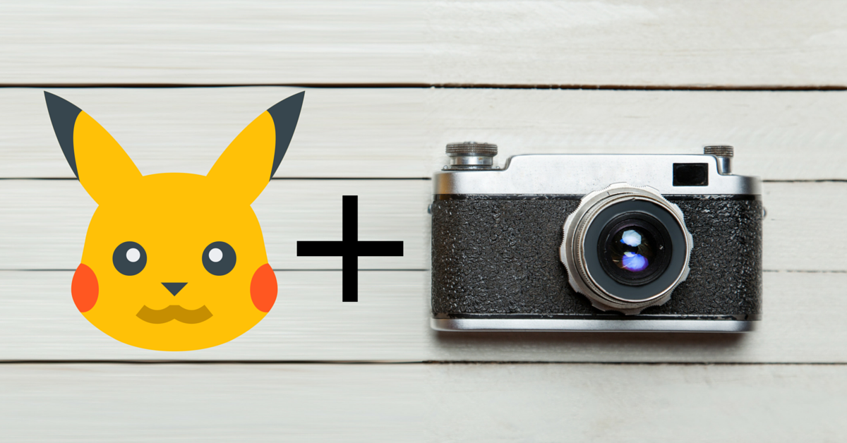 Pokemon Go and Teach Kids Photography