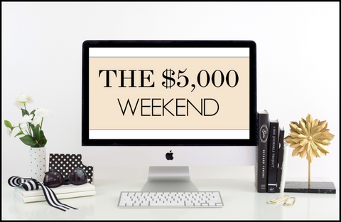 The 5K Weekend Black Friday Special for Photographers